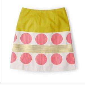NWOT🍉Boden Lara Embroidered Skirt
